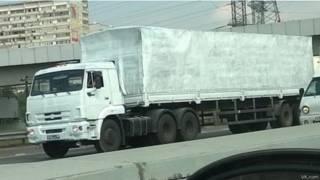 """""""Гуманитарный"""" грузовик"""