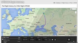 UTair flight UT5346