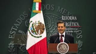 Presidente de México Enrique Peña Nieto promulgó las leyes secundarias de la Reforma Energética