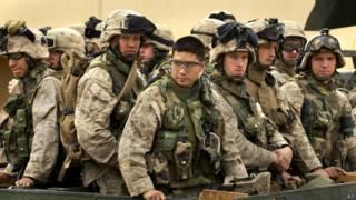 Американские морские пехотинцы в Ираке