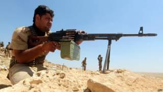 Боец курдской пешмерги