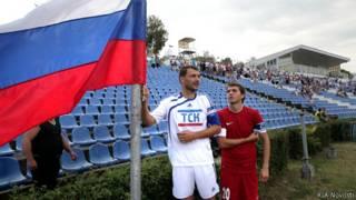 Матч Кубка России с участием крымских клубов в Симферополе