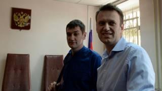 Олег и Алексей Навальные в суде