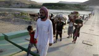 IS武裝分子的進犯已使約120萬伊拉克人流離失所。