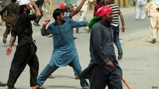 पाकिस्तान में राजनीतिक विरोध