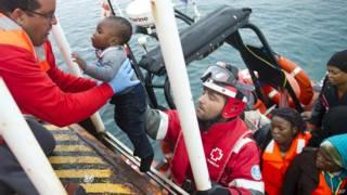 Fátima niña rescatada