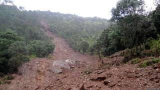 उत्तराखंड, पौड़ी क्षेत्र, भारी बारिश