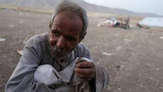 Беженец-езид на севере Ирака