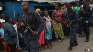 Abajejwe umutekano mu karere karangwamwo ebola muri Liberia