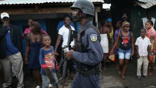 लाइबेरिया, इबोला