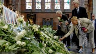 Homenagem às vítimas do MH17, na Holanda (AFP)