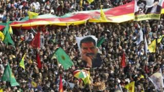 مظاهرة لحزب العمال الكردستاني