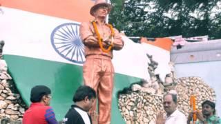 रायपुर के भगत सिंह चौक पर भगत सिंह प्रतिमा