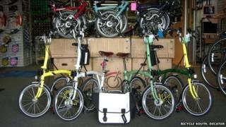 Brompton在美国出售自行车已经有20年历史