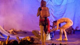 冉而山劇團的《彌莎‧禮信》受到英國戲劇屆人士的好評(圖片提供:冉而山劇團)
