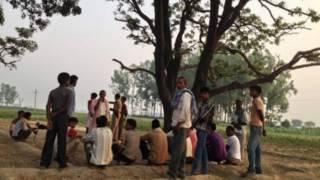Residentes del distrito de Badaun