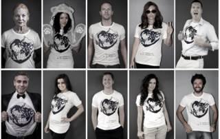 「拯救北極」主題T恤