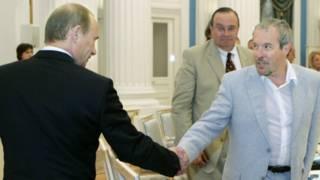 Владимир Путин и Андрей Макаревич