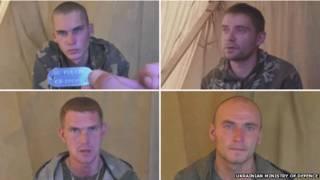 Soldados russos capturados (Ministério da Defesa da Ucrânia)