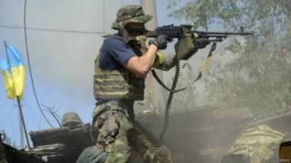 Бои в Украине