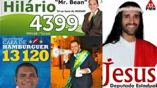 Candidatos insólitos de Brasil