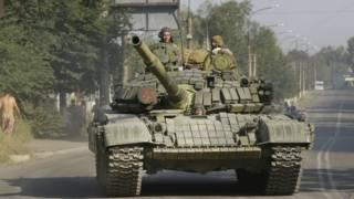 Вооруженные сепаратисты на востоке Украины