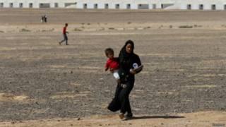 सीरिया विस्थापित