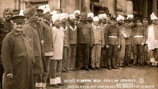 प्रथम विश्व युद्ध में भाग लेने वाले भारतीय सैनिक