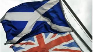 苏格兰和英格兰旗