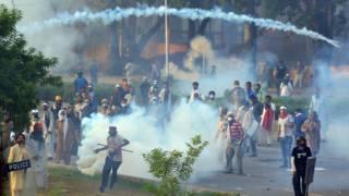 Enfrentamientos en Pakistán