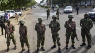 नाइजीरियाई सेना के सैनिक
