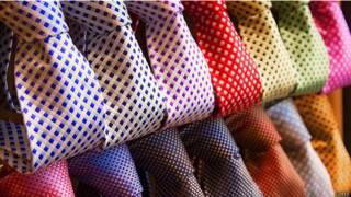 Галстуки разных цветов