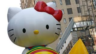 """Хелло Китти"" - парад в Нью-йорке"