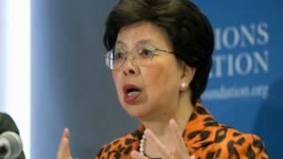 Mkurugenzi mkuu wa WHO, Margaret Chan
