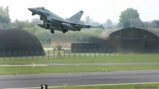 Avión Typhoon británico
