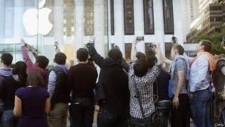 Очередь за iPhone5