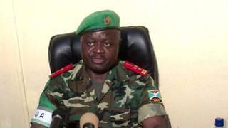 Lieutenant General Sillas Ntigurirwa, arongoye abasirikare ba AMISOM muri Somalia