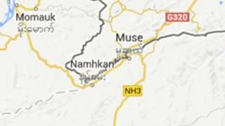 Namkham Map
