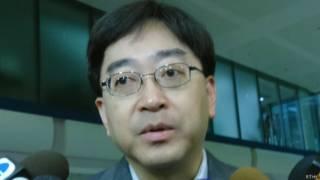 香港食物及衛生局局長高永文(06/09/2014)