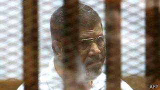 Morsi yavanywe ku butegetsi n'igisirikare muri 2013.