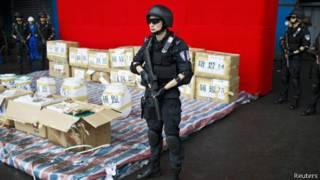 中国缉毒特警