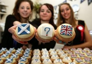 Referendo de independência da Escócia | Crédito: PA