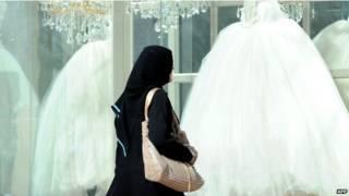 शादी का लिबास, सऊदी अरब
