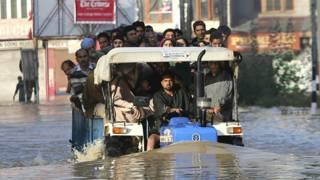 कश्मीर बाढ़