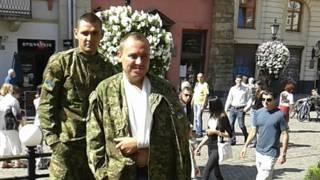 """Бойцы батальона """"Донбасс"""" Роман Берко (слева) и Остап Проць"""
