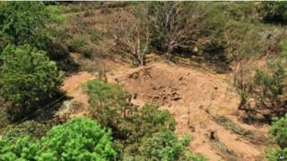 شهاب باعث ایجاد گودالی به قطر دوازده متر و عمق پنج متر در نزدیکی فرودگاه بین المللی ماناگوا شد
