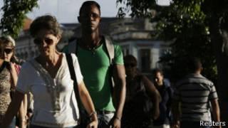 Ciudadanos en La Habana