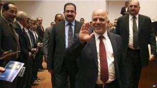 इराकी प्रधानमन्त्री हैदर अल अबादी