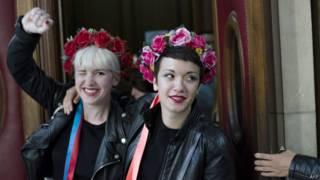 Ativistas do Femen (AFP)