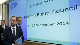 Reunião do Conselho de Direitos Humanos da ONU / Crédito: EPA
